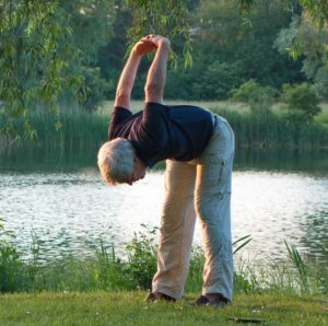 Flexibilität dank Planks