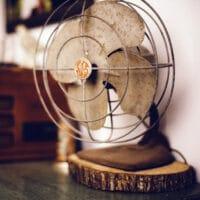 Ventilator bei Schlafen trotz Hitze